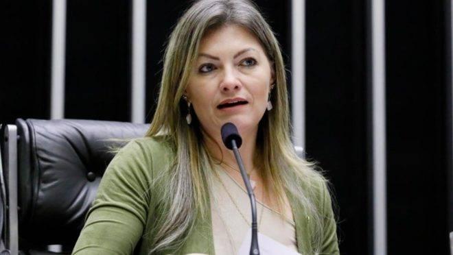 Deputada Federal Aline Sleutjes (PSL-PR), vice-líder do governo na Câmara.