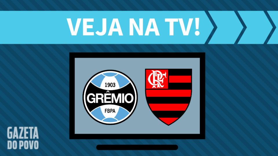 Grêmio x Flamengo AO VIVO: saiba como assistir ao jogo na TV