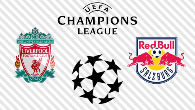 Liverpool x RB Salzburg: veja na TV