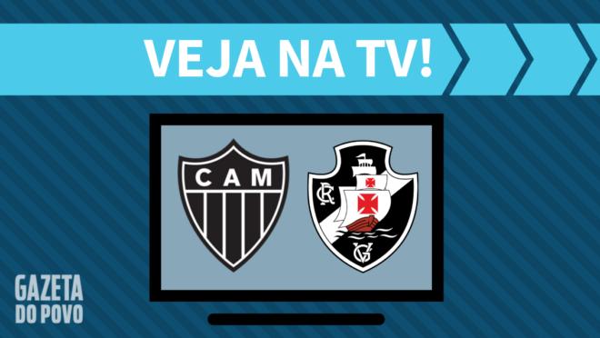 Atlético-MG x Vasco: veja na TV