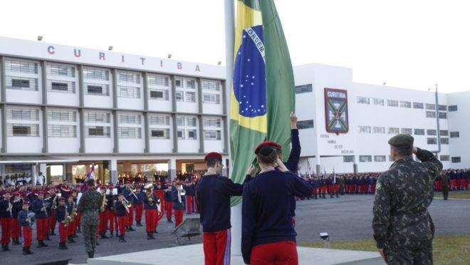 Colégio Militar de Curitiba.