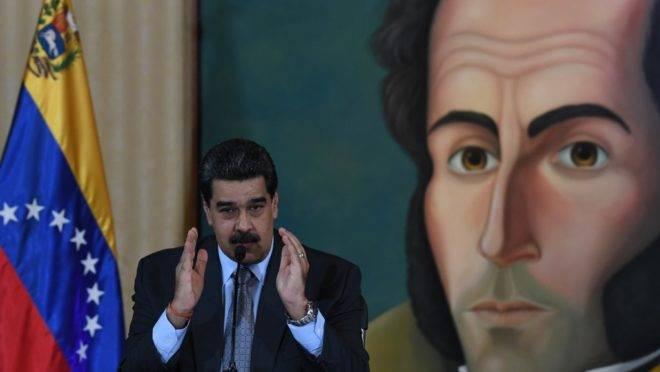 O ditador da Venezuela, Nicolás Maduro, em Caracas, 30 de setembro de 2019