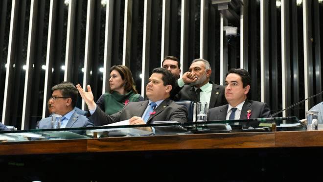 Economia com a reforma da Previdência: sessão no Senado