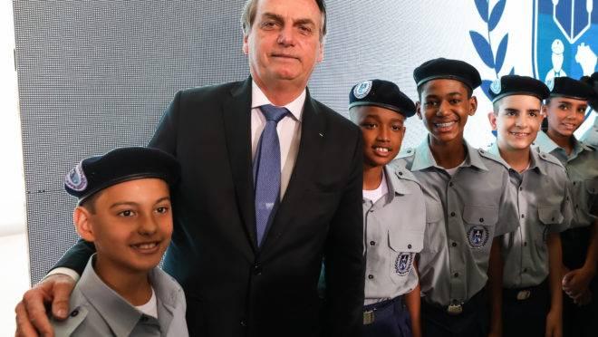 Lançamento do Programa Nacional das Escolas Cívico-Militares (Pecim)