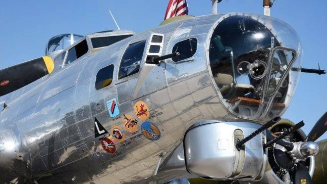Avião que caiu era do modelo B-17