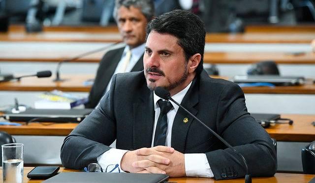 O senador Marcos do Val (Podemos-ES).