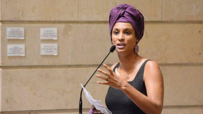Marielle Franco, vereadora morta no Rio de Janeiro.
