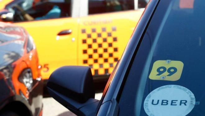 Aplicativos como Uber e 99 rendem mais à prefeitura do que táxis