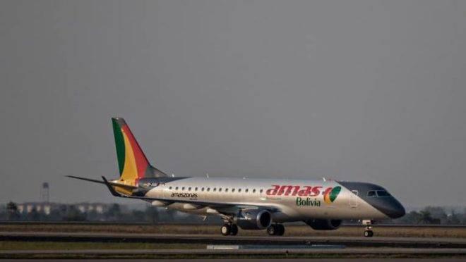 Embraer 190 da Amas Bolívia