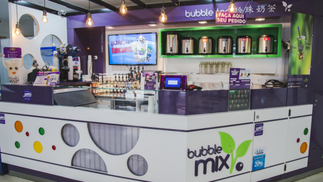 Fachada da Bubble Mix Tea