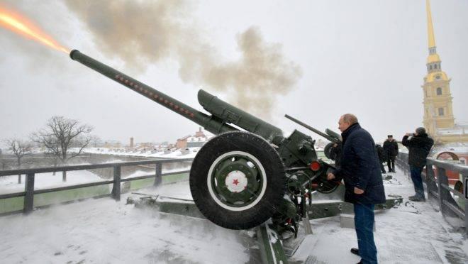 O presidente russo, Vladmir Putin, durante visita a São Petersburgo.