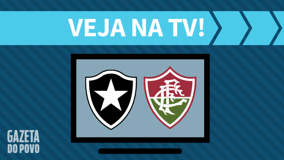 Botafogo x Fluminense AO VIVO: saiba como assistir ao jogo na TV