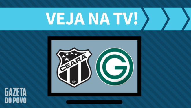 Ceará x Goiás: veja na TV