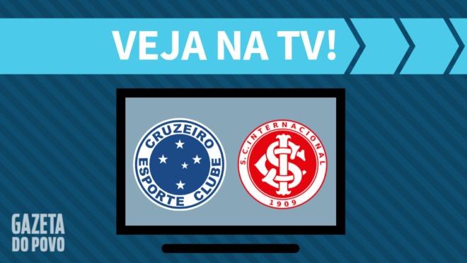 Cruzeiro x Internacional: veja na TV