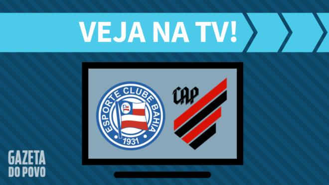 Bahia x Athletico: veja na TV