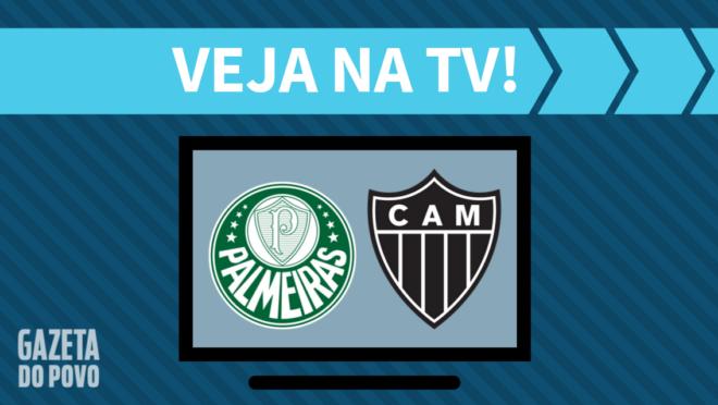 Palmeiras x Atlético-MG: veja na TV