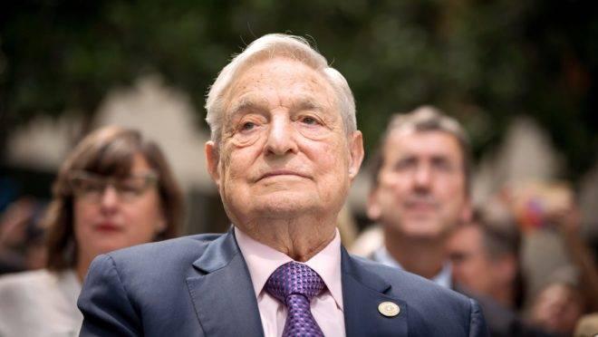 O investidor húngaro George Soros