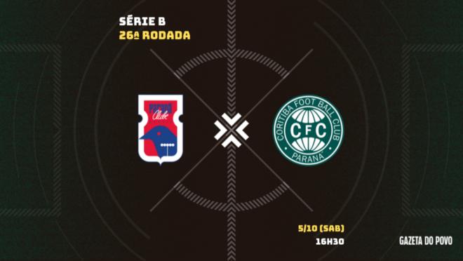 Paraná Clube x Coritiba: tudo sobre o jogo da Série B 2019!