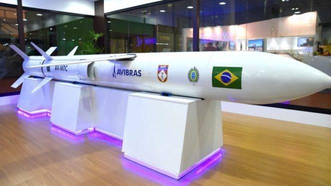 Míssil de longo alcance em desenvolvimento pelas Forças Armadas do Brasil: entrega está prevista para 2020.