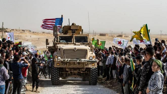 Tropas americanas na Síria