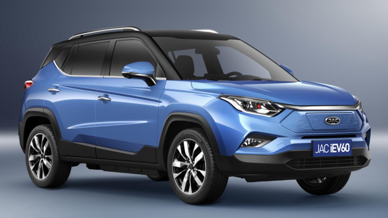 O SUV elétrico iVE60 é uma das novidades da JAC Motors para 2020. Foto: JAC Motors/ Divulgação
