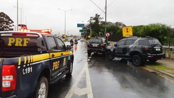 Ocorrência da morte do PM do Bope foi atendida pela Polícia Rodoviária Federal (PRF).