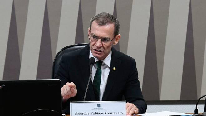 Senador Fabiano Contarato (Rede-ES), presidente da Comissão de Meio Ambiente.