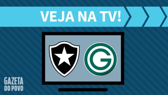 Botafogo x Goiás: veja na TV