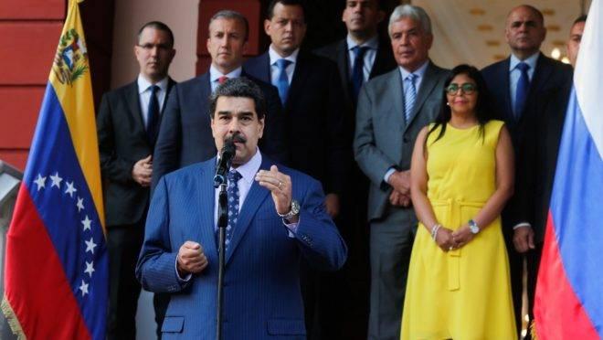 O ditador da Venezuela, Nicolás Maduro, em Caracas, 5 de outubro de 2019