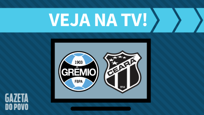 Grêmio x Ceará: veja na TV