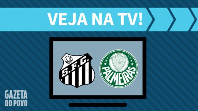 Santos x Palmeiras: veja na TV