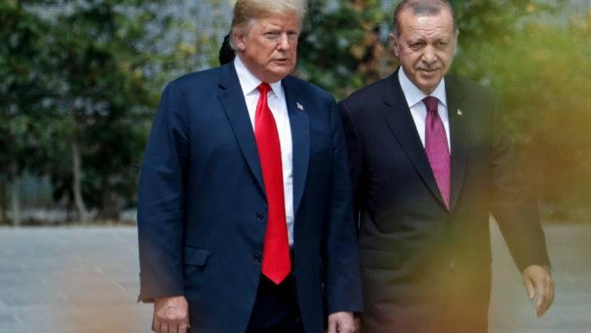 Trump e Erdogan