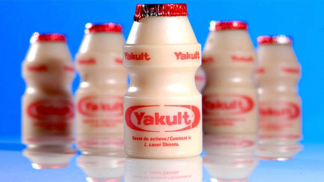 Yakult leite fermentado