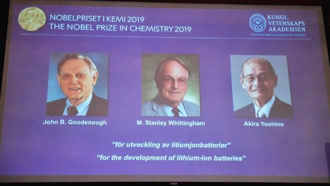Ganhadores do Prêmio Nobel de Química de 2019