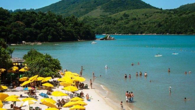 O município de Porto Belo é conhecido pelas belas praias