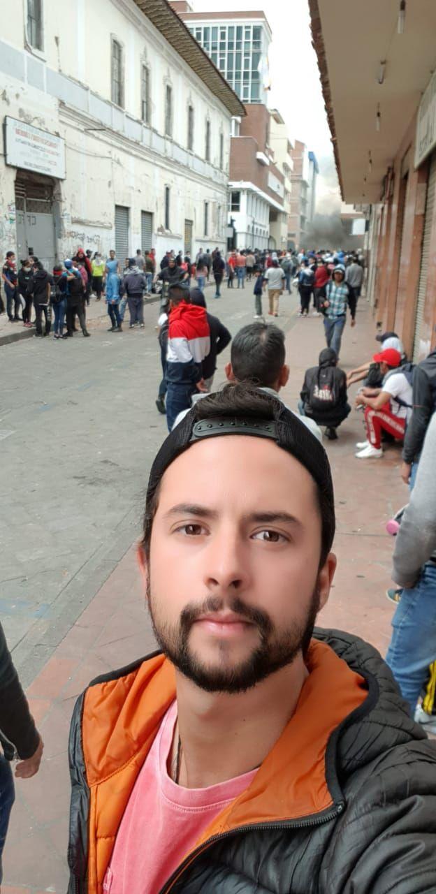 O curitibano Gustavo Ader
