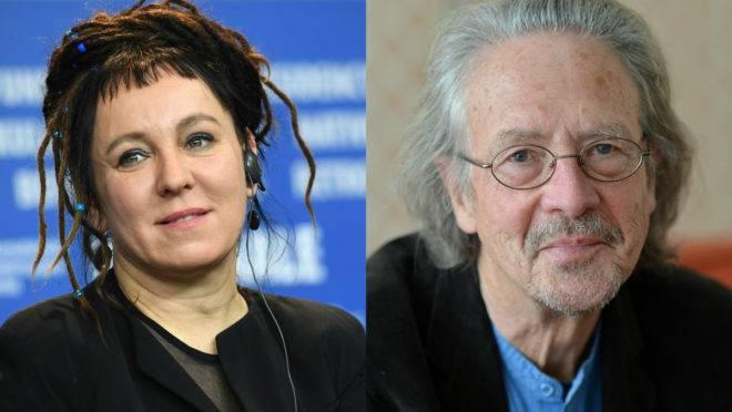 Ganhadores do Prêmio Nobel de Literatura 2018 e 2019