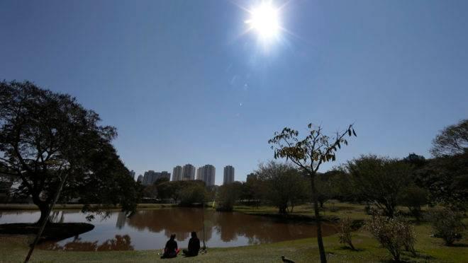 Dia de sol em Curitiba