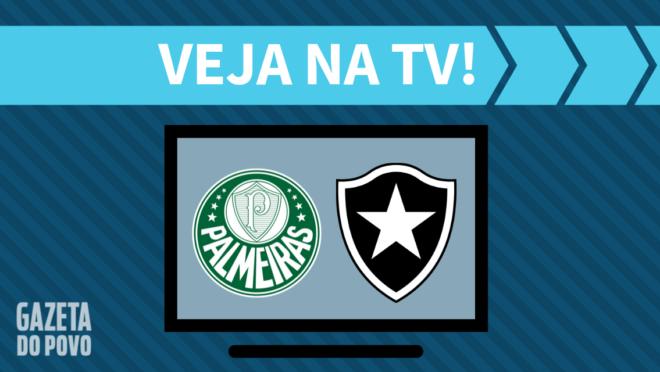 Palmeiras x Botafogo: veja na TV