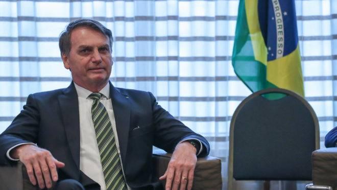 (São Paulo – SP, 10/10/2019) Presidente da República, Jair Bolsonaro durante audiência ao Presidente do Banco Interamericano de Desenvolvimento (BID), Luis Alberto Moreno.rFoto: Marcos Corrêa/PR