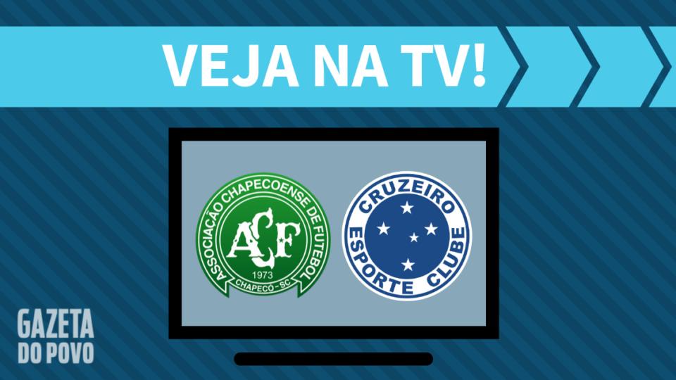 Chapecoense x Cruzeiro AO VIVO: saiba como assistir ao jogo na TV