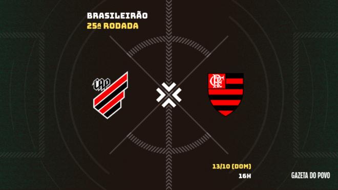Athletico x Flamengo: informações, escalações, transmissão e arbitragem