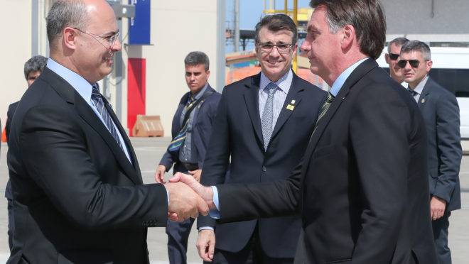 Bolsonaro e Witzel