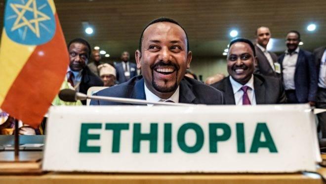 O primeiro-ministro da Etiópia, Abiy Ahmed, vencedor do Prêmio Nobel da Paz, em foto de 17 de janeiro de 2019