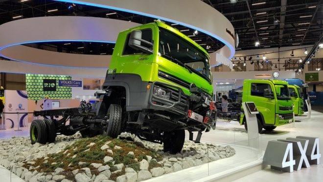 O VW Delivery ganha a versão 11.180 4×4, para aplicações mais severas. Foto: Renyere Trovão