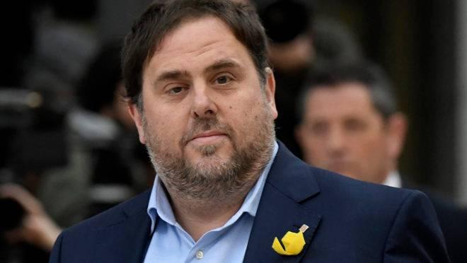 Vice-presidente regional deposto da Catalunha, Oriol Junqueras