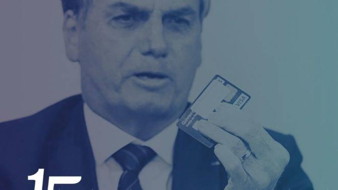 Bolsonaro - cartão corporativo