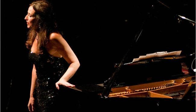 A pianista brasileira Sonia Rubinsky