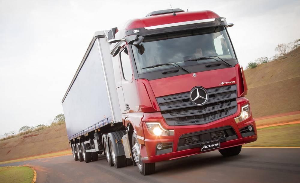 O novo Actros chega ao mercado em abril de 2020. Foto: Mercedes-Benz/ Divulgação