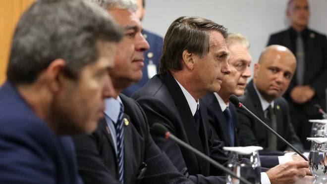 Encontro de Jair Bolsonaro com a Bancada do PSL.